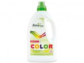 52815 almawin tekuty praci prostredek na barevne pradlo color lipovy kvet 1 5l