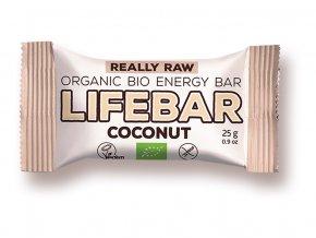 52905 bio tycinka lifebar kokosova raw 25g