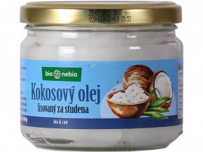 Bio Kokosový olej lisovaný za studena 250g