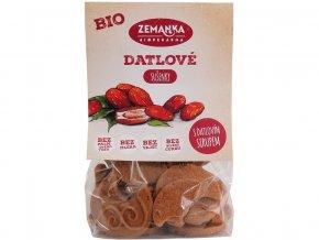Bio Datlové sušenky s citronovým olejem 100g