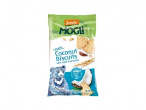 53358 bio mini susenky medvidek maslove s kokosem bez cukru 50g