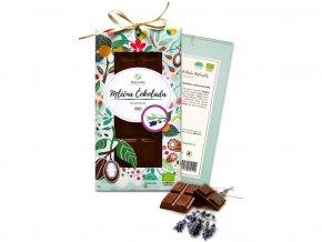 53580 bio cokolada s levanduli mlecna 80g