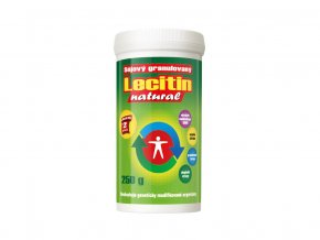 54168 lecitin 250g gran prir 100 sojovy natural