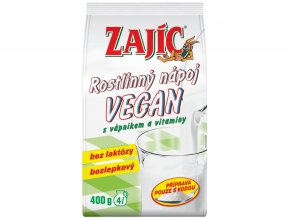 54204 rostlinny napoj zajic vegan 400g sacek