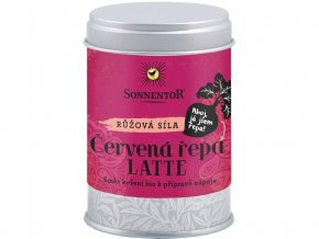 54246 bio cervena repa latte 70g doza pikantni korenici smes