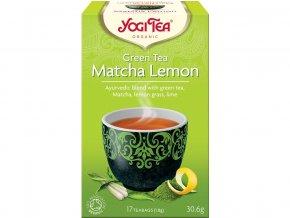 54438 bio zeleny caj matcha citron yogi tea 17 x 1 8 g
