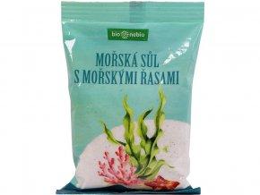 Mořská sůl jodovaná mořskými řasami 300g