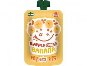 54573 bio kapsicka jablko karotka banan ovko 90g