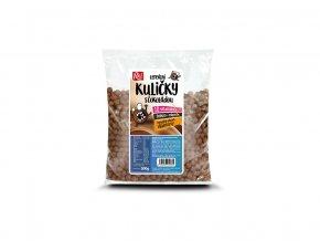 55080 kakaove kulicky s vitaminy fe ca a vlakninou 500g