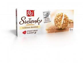 Sušenky s žitnou moukou 120g