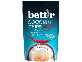 Bettr Kokos chips s chili BIO 70g
