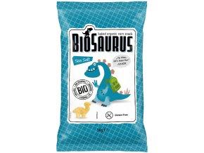 BIOSAURUS Bio Kukuřičné křupky slané Junior 50g