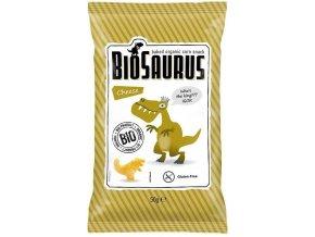 BIOSAURUS Bio Kukuřičné křupky se sýrem 50g