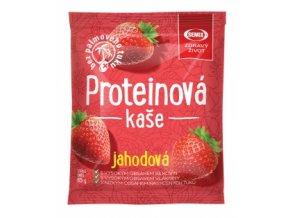 Proteinová kaše Jahoda 65g