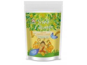 Iswari Snídaňová směs snack z džungle jablko-banán (dětská snídaně) 300g
