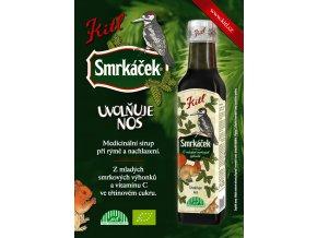 Kitl Bio Smrkáček 250 ml