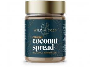 65916 bio kokosovy krem krupavy karamel 300g