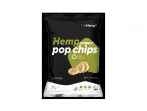 66084 bio organicke konopne pop chips natural 45g