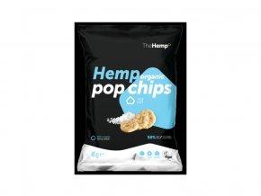 Bio Organické konopné pop chips sea salt 45g