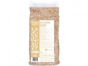 Bio Rýže hnědá kulatá 500g