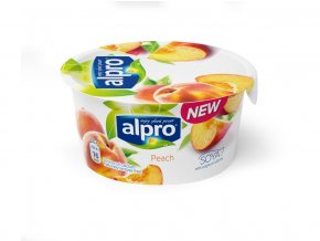 Sójová alternativa jogurtu - Broskev 150g