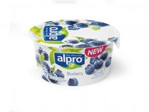 Sójová alternativa jogurtu - Borůvka 150g