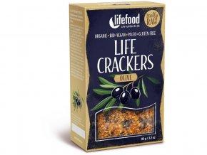 67347 bio life crackers olivove 90g