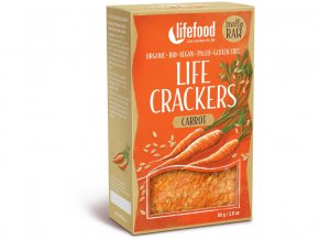 Bio Life crackers Mrkvánky RAW 80 g