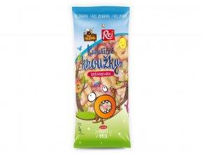Kukuřičné kroužky ovocné +20% 72g