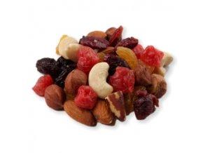 směs ořechů a ovoce
