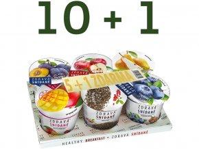 Akční balení Zdravá snídaně varianta B 10+1ZDARMA