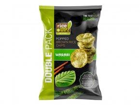 69366 1 ryzove chipsy hneda ryze s wasabi 120g
