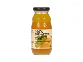Šťáva 100% meruňkovo-jablková 0,2 l