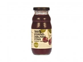Šťáva 100% višnovo-jablková 0,2 l