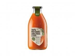 Šťáva 100% mrkvovo-jablková 0,75l