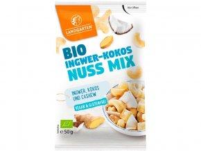 Bio Směs zázvor, kokos a oříšky 50g