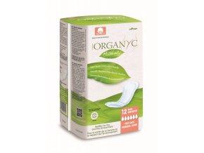 Organyc Mateřské vložky po porodu (12 ks) - 100% z biobavlny, 6 kapiček