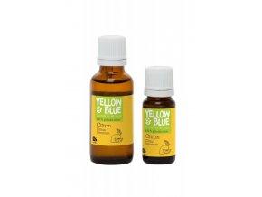 Yellow&Blue Citronová silice (10 ml) - přírodní éterický olej