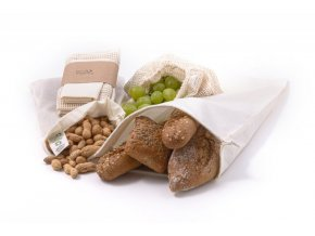 Casa Organica Sada na potraviny (3 ks) - z biobavlny