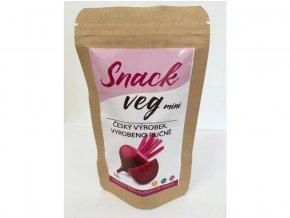 Červená řepa sušená ve vakuu Snack veg mini 10g