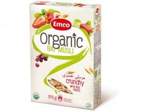 Bio Organic musli red fruit 375g