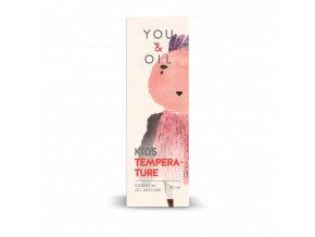 You & Oil KIDS Směs esenciálních olejů pro děti - Horečka (10 ml)
