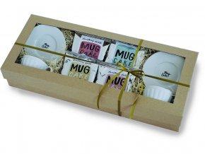 Sada Mug Cakes + 2x šálek s podšálkem