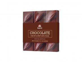 Bio čokoláda Dark Intense 85% cukr 1% 75g