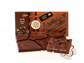 142 1 cokolada mlecna 51 s kavovymi zrny 45 g cokoladovna troubelice