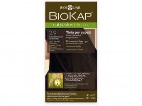 Barva na vlasy - 2.90 Kaštanovo čokoládová tmavá 140ml
