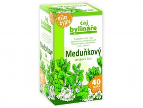 Bylinář Meduňkový čaj 40x1,6g
