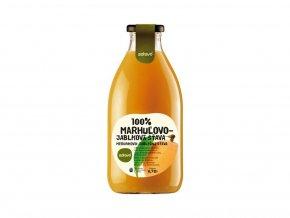 Šťáva 100% meruňkovo-jablková 0,75l
