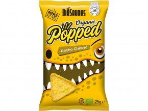 Bio snack Biosaurus nacho cheese Popped 25g