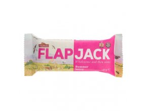 Flapjack ovesný malina-jahoda bezlepkový 80 g WHOLEBAKE